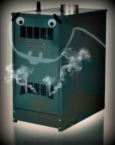 dirty boiler
